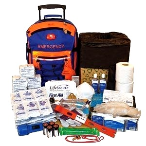 contents of the LifeSecure emergency kit
