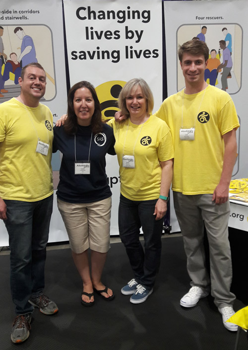 The ADAPTS team at the Abilities Expo