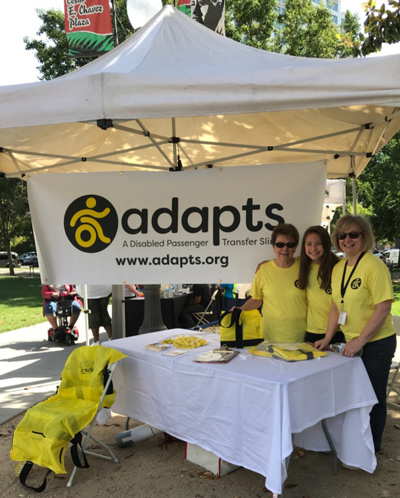 ADAPTS team at an outdoor event
