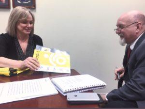 Robin meeting with Senator Bob Casey