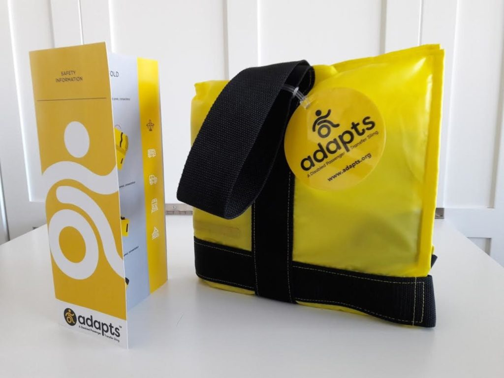 ADAPTS Tote and info card